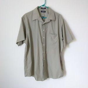 Puritan Tan Pocket Button Up Shirt